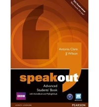Antonia Clare et J. J. Wilson - Speakout Advanced Students' Book with ActiveBook. 1 Cédérom