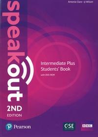 Antonia Clare et J. J. Wilson - Speakout Intermediate Plus Students' Book. 1 DVD