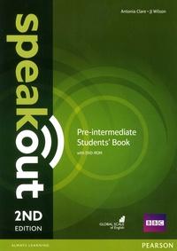 Antonia Clare et J. J. Wilson - Speakout Pre-Intermediate Students' Book. 1 DVD