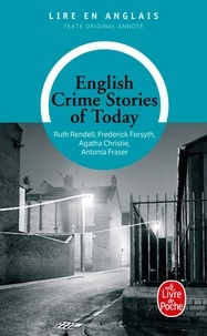 Antonia Fraser et Frederick Forsyth - English crime stories of today.