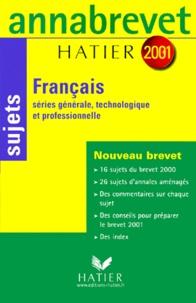 Rhonealpesinfo.fr Français 3ème. Sujets, édition 2001 Image
