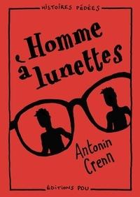 Antonin Crenn - Homme à lunettes.