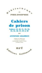 Antonio Gramsci - Cahiers de prison - Tome 5, Cahiers 19 à 29.