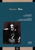 Antonio Moresco - Duo.