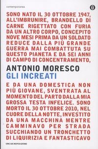 Antonio Moresco - Gli increati.