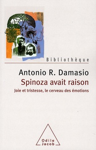 Cjtaboo.be Spinoza avait raison - Joie et tristesse, le cerveau des émotions Image