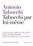 Antonio Tabucchi - Tabucchi par lui-même.
