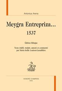 Antonius Arena - Meygra Entrepriza... 1537.
