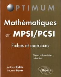 Mathématiques en MPSI/PCSI - Fiches et exercices.pdf
