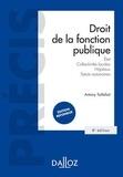 Antony Taillefait - Droit de la fonction publique - Etat, Collectivités locales, Hôpitaux, Statuts autonomes.