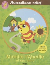 Antoon Krings - Mireille l'abeille et ses amis - Autocollants relief.