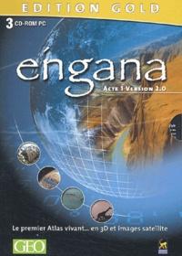 Hachette Multimédia - Eingana Acte 1 version 2.0 - 3 CD-ROM, Edition Gold.