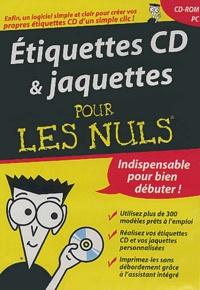 Collectif - Etiquettes CD & jaquettes pour les nuls. - CD-ROM.