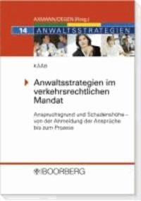 Anwaltsstrategien im verkehrsrechtlichen Mandat - Anspruchsgrund und Schadenshöhe - Von der Anmeldung der Ansprüche bis zum Prozess.