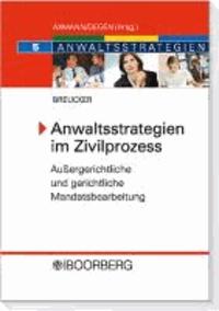 Anwaltsstrategien im Zivilprozess - Außergerichtliche und gerichtliche Mandatsbearbeitung.