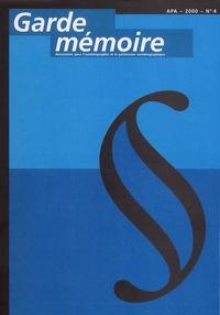 APA - Garde mémoire N° 4, 2000 : .