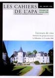 Catherine Bogaert - Les cahiers de l'APA N° 20, Juin 2001 : Lecteurs de vie.