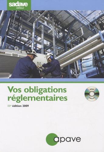 APAVE - Vos obligations réglementaires. 1 Cédérom