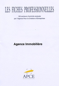 APCE - Agence immobilière - Code NAF 70.3A.