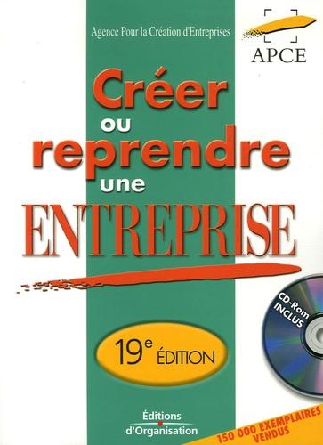 APCE - Créer ou Reprendre une Entreprise - Méthodologie et Guide pratique, Edition 2006. 1 Cédérom