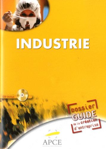 APCE - Dossier guide de création d'entreprises industrie. 1 Cédérom