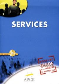 APCE - Dossier guide de création d'entreprises services. 1 Cédérom