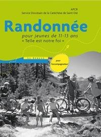 APCR et Saint-dié Sdc - Randonnée - livre animateur - Pour jeunes de 11-13 ans.