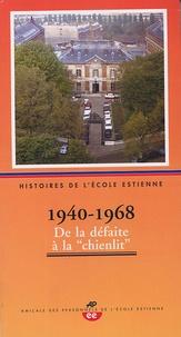 Apee - Histoires de l'Ecole Estienne - Tome 2 1940-1968.