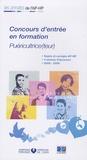 APHP - Concours d'entrée en formation Puéricultrice (teur) - Epreuves de sélection 2005-2008.