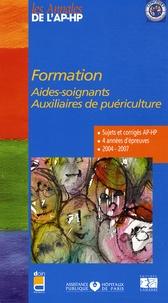 Formation Aides-soignants Auxiliaires de puériculture - Epreuves de sélection 2004-2007.pdf