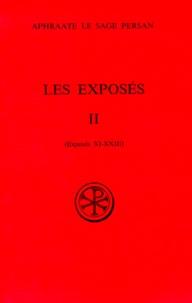 LES EXPOSES. Tome 2, exposés 11 à 23.pdf