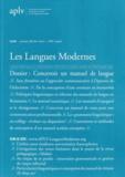 Annie Semal-Lebleu - Les Langues Modernes N° 1/2010 : Concevoir un manuel de langue.