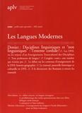 """Bernard Delahousse et Marie-Pascale Hamez - Les Langues Modernes N° 3/2009 : Disciplines linguistiques et """"non linguistiques"""" : l'entente cordiale ?."""