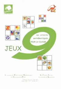 APMEP - Jeux 9 - Des activités mathématiques pour la classe.