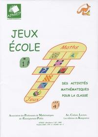 APMEP - Jeux-Ecole 1.