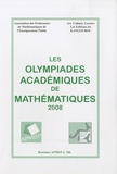 APMEP - Les Olympiades académiques de mathématiques 2008.