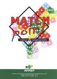 APMEP - Match Point - Calcul & raisonnement.