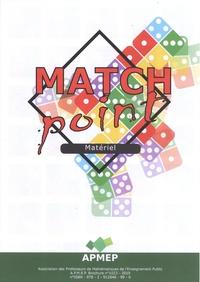 APMEP - Match Point - Matériel.