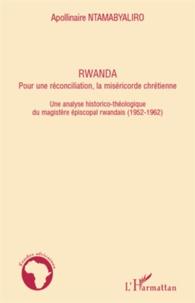 Ucareoutplacement.be Rwanda, pour une réconciliation, la miséricorde chrétienne - Une analyse historico-théologique de magistère épiscopal rwandais (1952-1962) Image