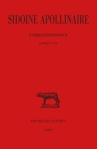 Apollinaire Sidoine et A. Loyen - Oeuvres. - tome 3 : livre VI-IX.