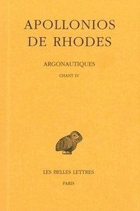 Apollonios de Rhodes - Argonautiques - Tome 3, Chant IV.