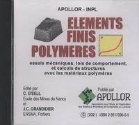 Christian G'Sell - Eléments finis polymères - CD-ROM.