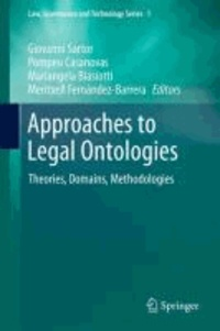 Giovanni Sartor - Approaches to Legal Ontologies - Theories, Domains, Methodologies.