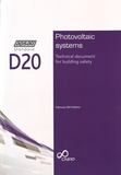 APSAD - Photovoltaic systems D20 - Technical document for building safety.