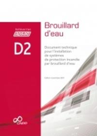 Histoiresdenlire.be Référentiel APSAD D2 Brouillard d'eau - Document technique pour l'installation de systèmes de protection incendie par brouillard d'eau Image