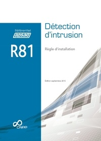 APSAD - Référentiel APSAD R81 Détection d'intrusion.