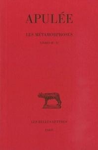 Apulée - Les métamorphoses - Livres IV-VI.