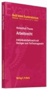 Arbeitsrecht - Individualarbeitsrecht mit Bezügen zum Tarifvertragsrecht.