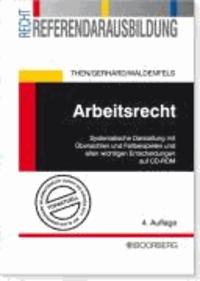 Arbeitsrecht - Systematische Darstellung mit Übersichten, Fallbeispielen und allen wichtigen Entscheidungen auf CD-ROM.