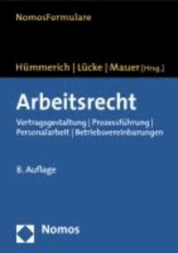 Arbeitsrecht - Vertragsgestaltung - Prozessführung - Personalarbeit - Betriebsvereinbarungen.